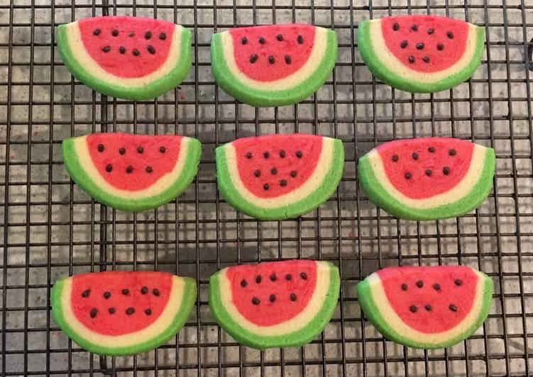 Watermelon Cookies Enak dan Renyah
