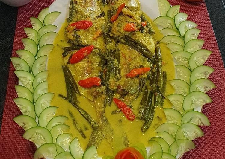 Ikan Masak Gulai Kuning Sederhana