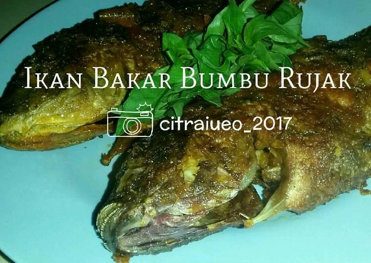 Ikan Bakar Bumbu Rujak