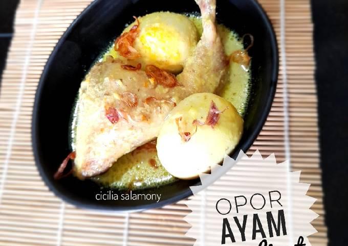 Opor Ayam Nasi Liwet Solo