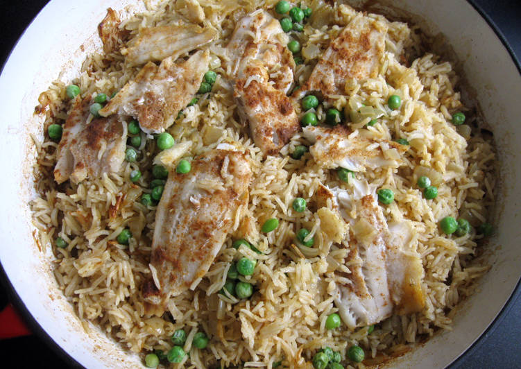 How to Make Award-winning Oven-baked Fish Curry Pilaf