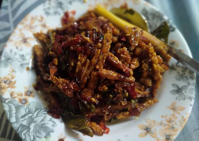 orek tempe kering - resepenakbgt.com