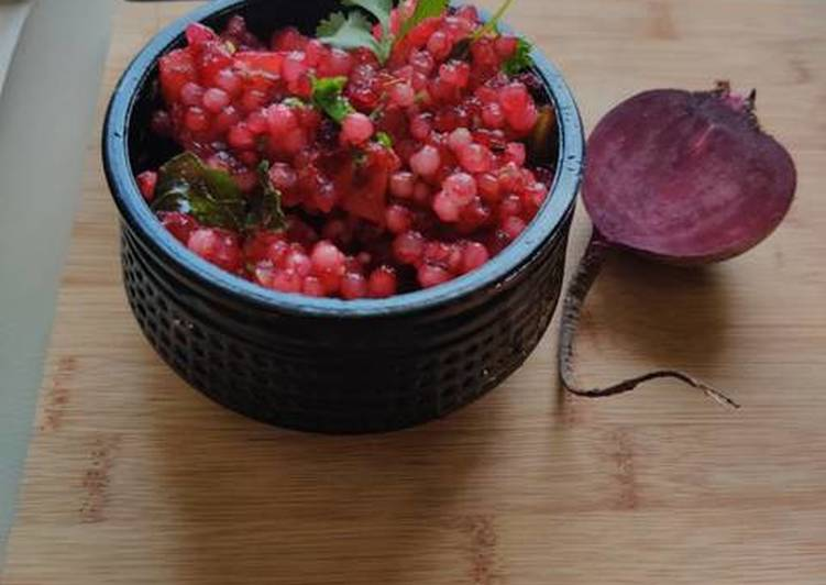 Step-by-Step Guide to Prepare Homemade Beetroot Sabudana(SAGO) Khichdi