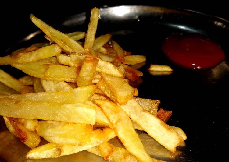Easiest Way to Make Award-winning French fries/ chips