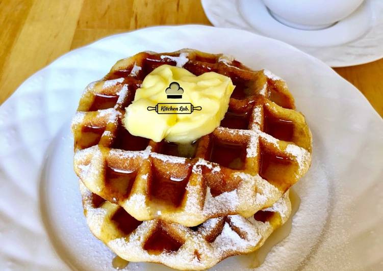 Belgian Lige Waffles