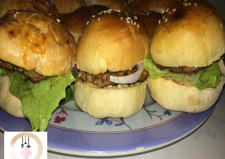 Burger bread recipe by khabs kitchen