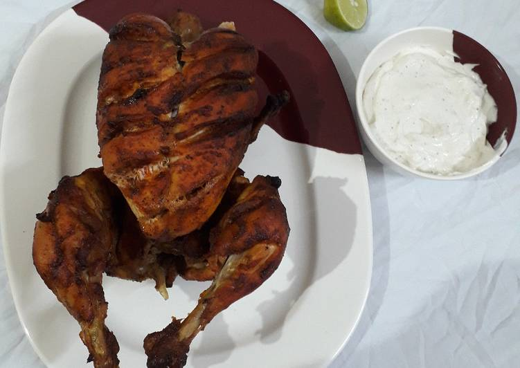 Simple Way to Make Top-Rated Rotieserrie chicken with mayonnaise