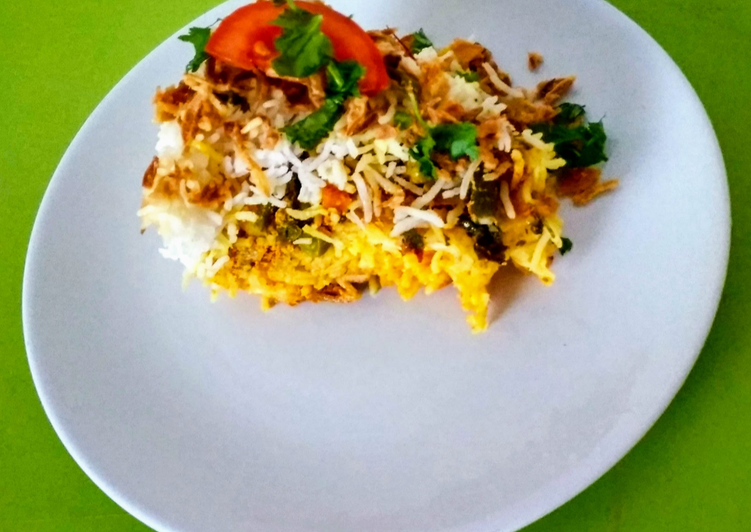 Hydrabadi Vegetables briyani