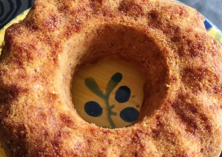 Gâteau pommes noisettes pralinées