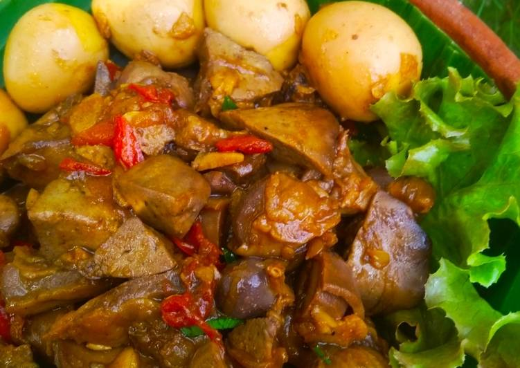 Resep Rempelo Ati Ayam dan Telur Puyuh Kecap Anti Gagal