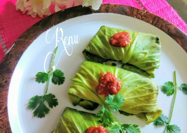 Recipe: Perfect Baked Cabbage Rolls