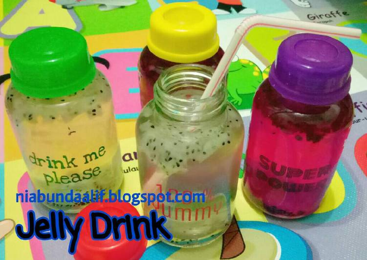 Jelly Drink Rasa Buah (utk anak intoleran susu sapi)
