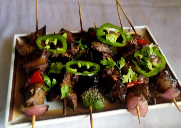 Simple Way to Prepare Ultimate Kidney kebabs