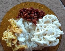 Nasi uduk (nasi gemuk)