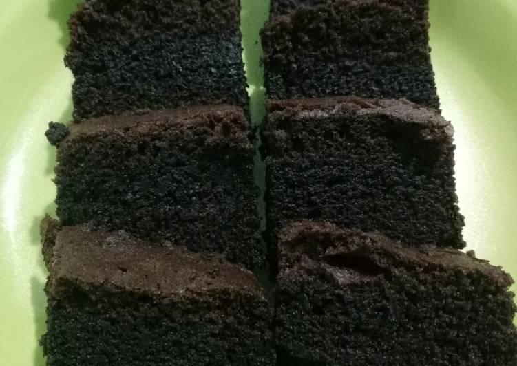 Bagaimana Menyiapkan Bronis kukus ala amanda Anti Gagal