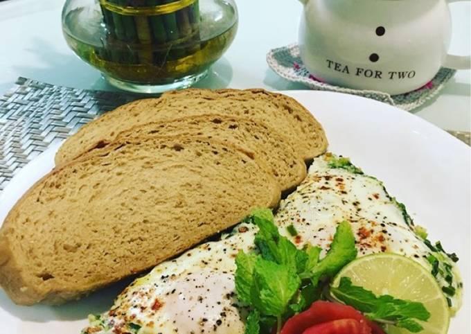 Leek's Omelet/Omelet Bawang Perai/Pırasa menemen