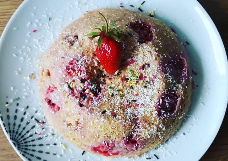 Façon la plus simple Cuisiner Appétissant Bowlcake aux fraises