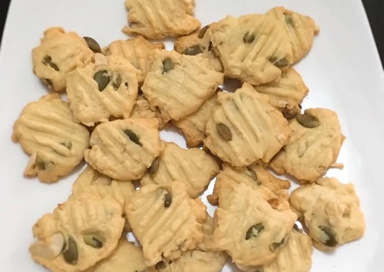 Cookies cashew n pumkin seeds