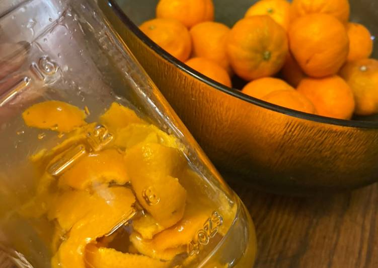 ALL-NATURAL ORANGE VINEGAR FOR CLEANING  Green cleaning