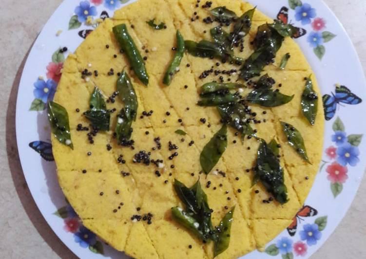 Simple Way to Make Top-Rated Khaman dhokla