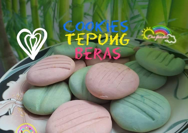 Cookies tepung beras - cookandrecipe.com