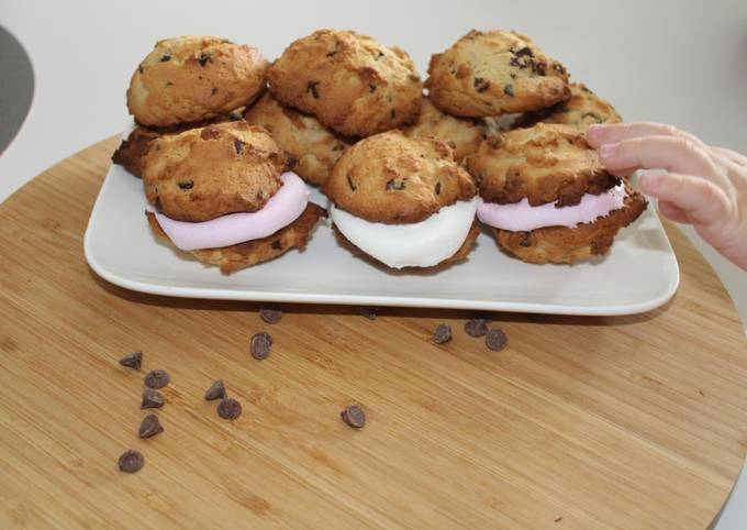 Cookies chamallow