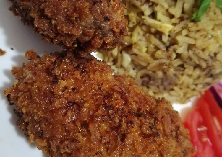 Recipe of Top-Rated Crispy fried chicken