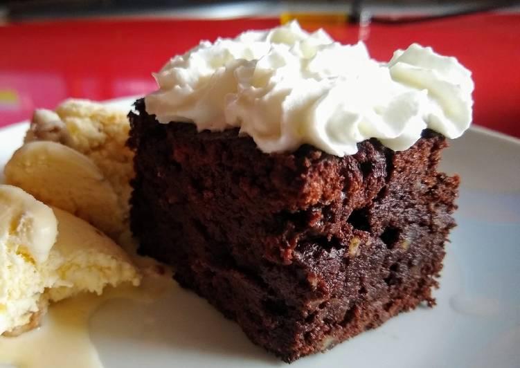 Brownie sin harina ni levadura