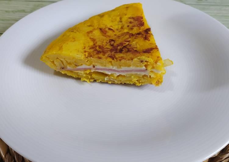 Tortilla española rellena