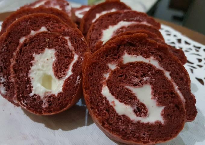 Redvelvet roll cake keto/debm #keto