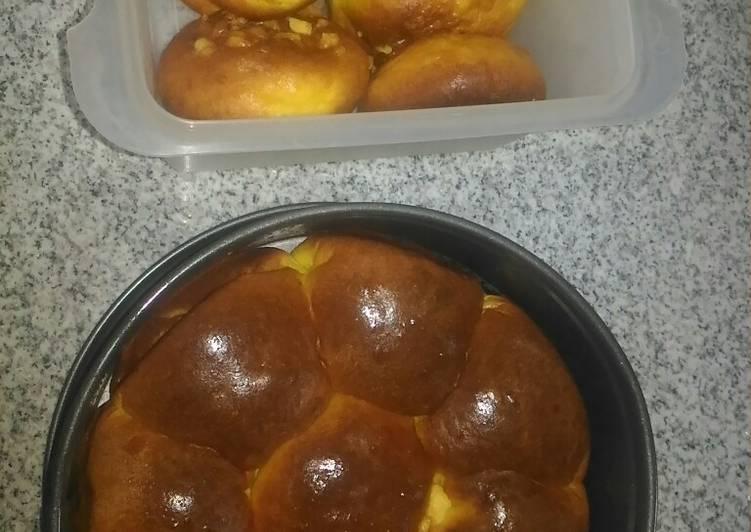 Roti labu kuning #keto#me time is baking time
