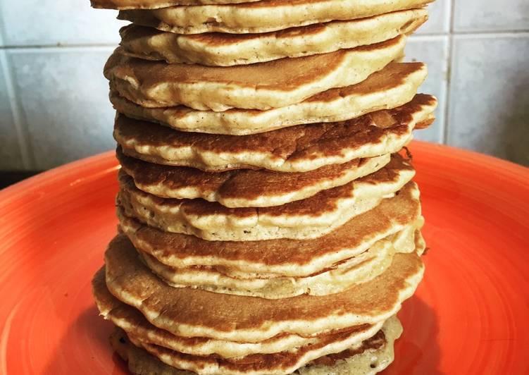 Pancakes avena e cannella