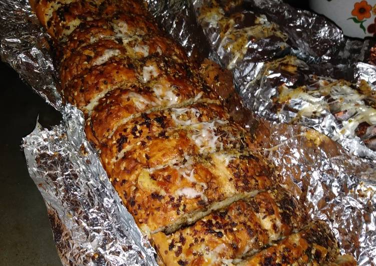 Cheesy Herb Garlic Bread Loaf