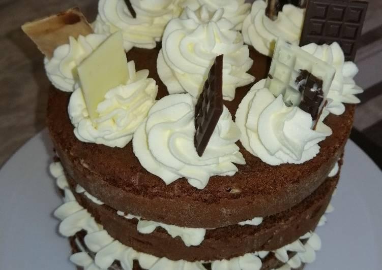 Gâteau chocolat ananas