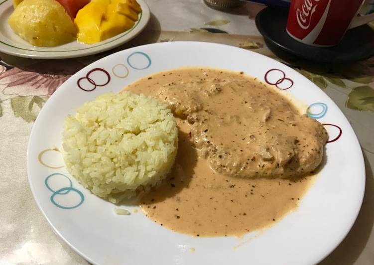 Chuletas De Cerdo En Salsa De Chile Chipotle Receta De Emmanuel Marin Cookpad