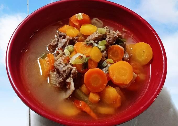 Soup Tetelan Sapi Segar