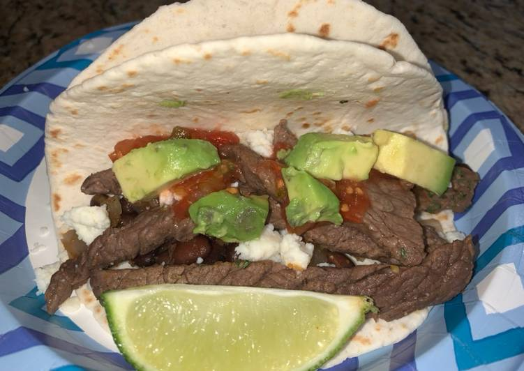 Easiest Way to Cook Yummy Cilantro Lime Steak Tacos