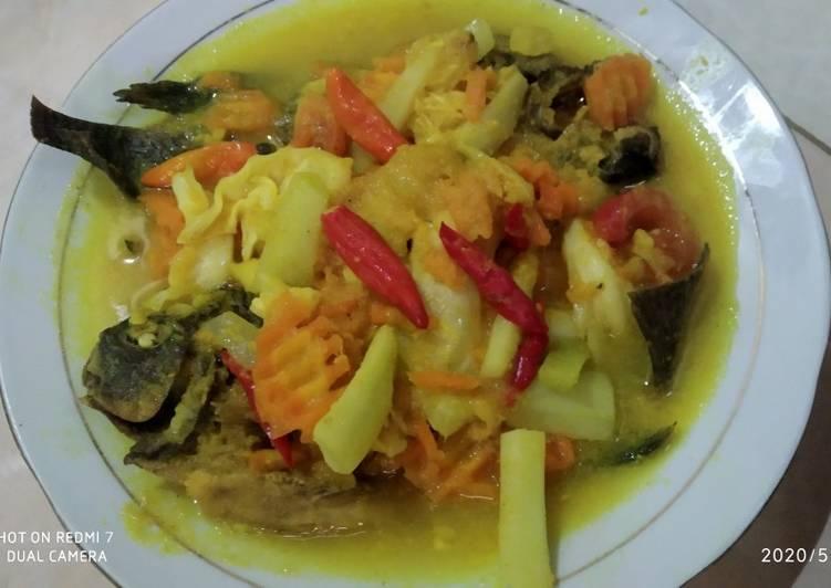 Langkah Mudah untuk Menyiapkan Nila masak acar Bumbu kuning yang Lezat Sekali