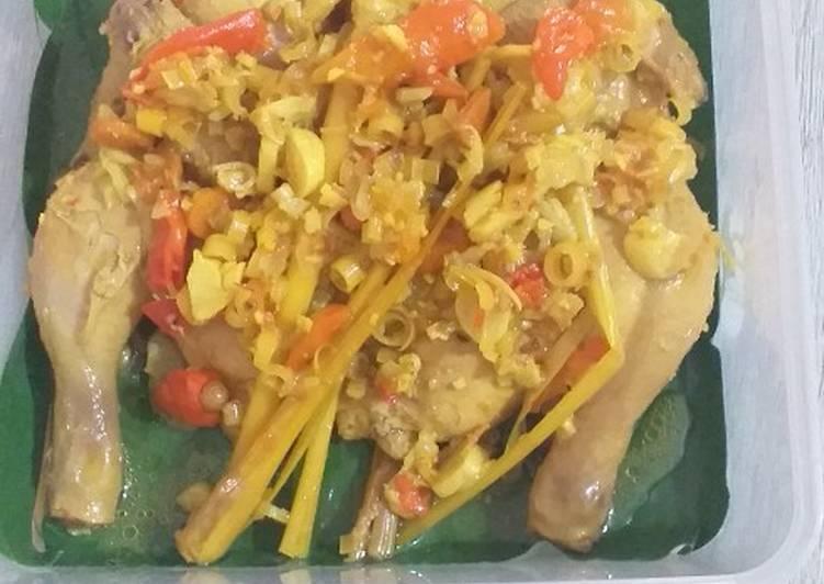 Ayam Betutu Rice Cooker ala Vio Cantik
