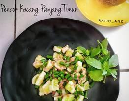 Pencok Kacang Panjang Timun (Makanan khas Sunda)