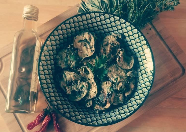 Recette: Appétissant Aubergines rôties aux anchois et à l'origan