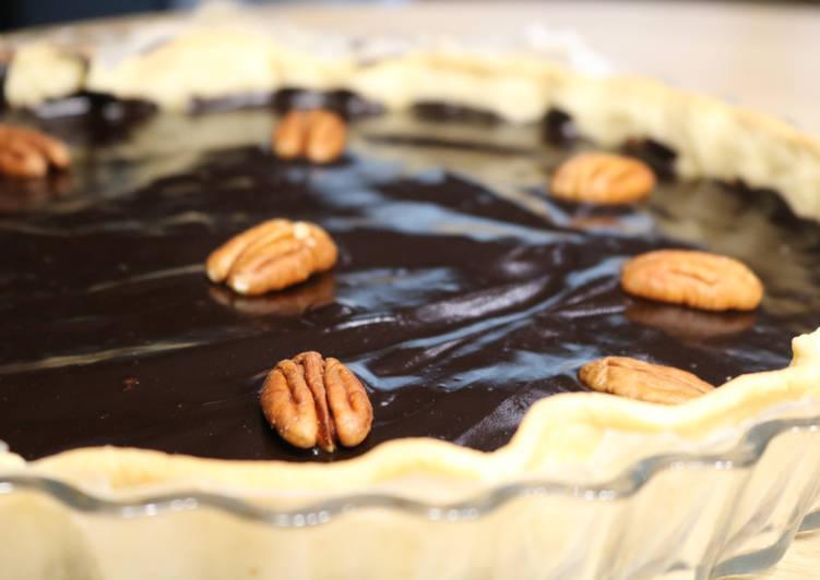 Les Meilleures Recettes de Tarte chocolat - noix de pécan