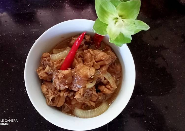 Ayam sous tiram sedap dan senang - velavinkabakery.com