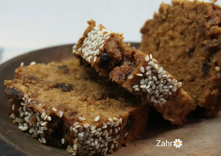 Banana Cake with Whole Wheat Flour (gluten free)