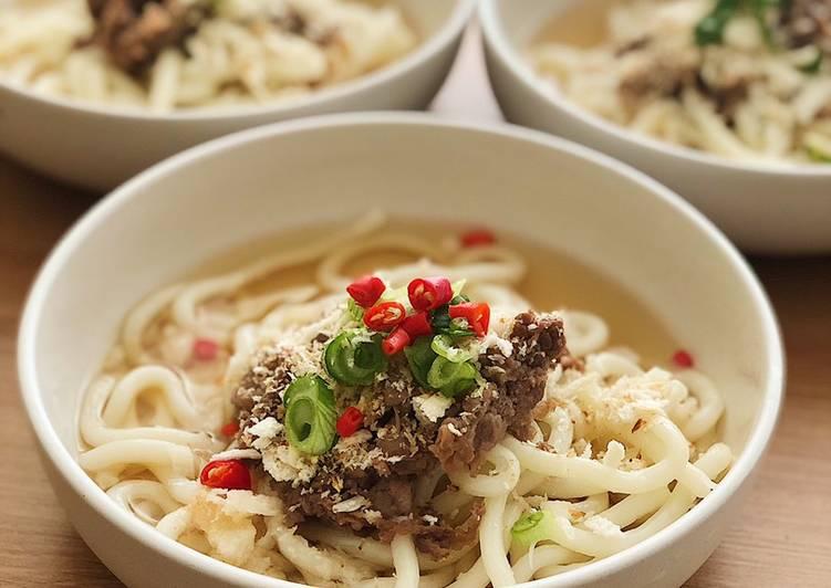 "Homemade ""Marugame Udon"" Di Kuah Shoyu"