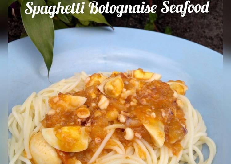 Spaghetti Bolognaise Seafood