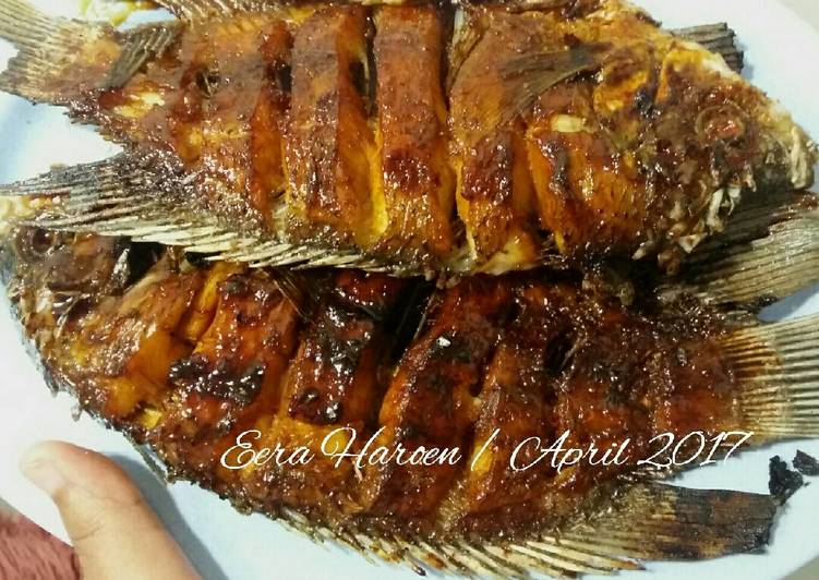 Ikan Bakar Kecap (Super Simple)