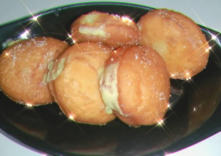 Custard filled Donuts