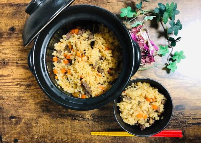 Japanese Beef Rice