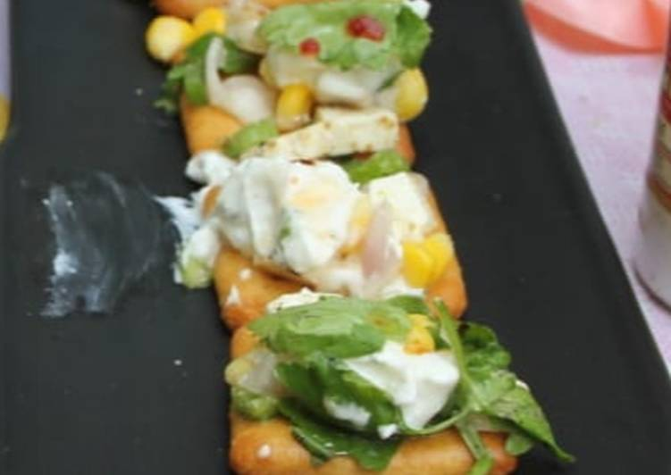 Recipe of Perfect Cracker Salad Bites